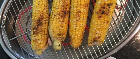 Delicious grilled corn on the cob for summer