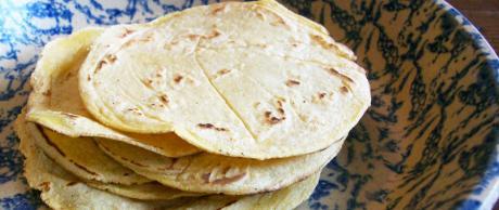 Saladmaster Recipe Corn Tortilla by Cathy Vogt