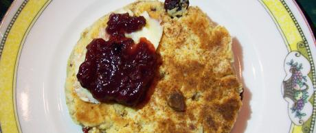 Saladmaster Recipe Cranberry Almond Breakfast Biscuits by Cathy Vogt