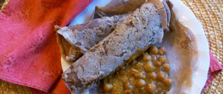 Saladmaster Recipe Injera (Ethiopian Flatbread) by Cathy Vogt