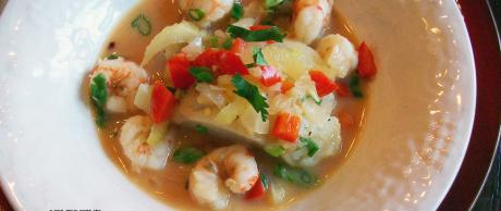 Fish Stew in Coconut Lime Broth | Saladmaster Recipes
