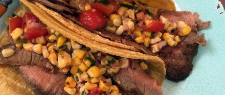 Saladmaster Mexican recipe for soft fajita steak tacos