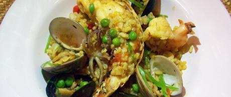 Saladmaster Recipe Mixed Seafood Paella