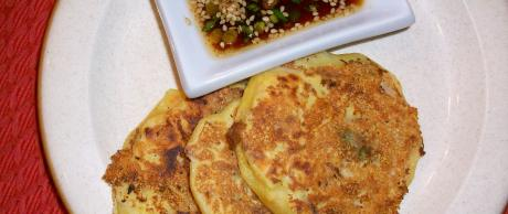 Saladmaster Recipe Noku Bindaetteok (Korean Mung Bean Pancake)