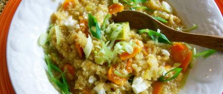 Saladmaster Recipe Peruvian Quinoa Stew by Cathy Vogt