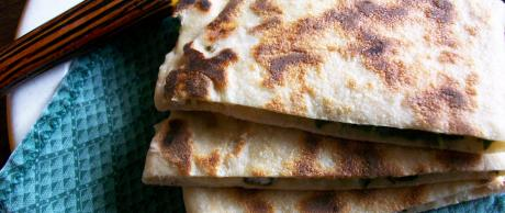Saladmaster Recipe Spinach and Feta Gozleme by Cathy Vogt