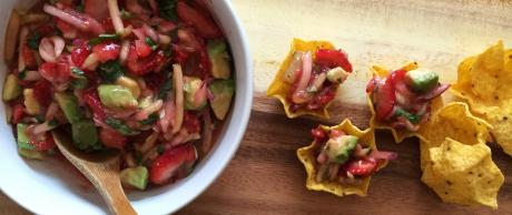 Saladmaster Recipe Strawberry, Cucumber & Avocado Salsa