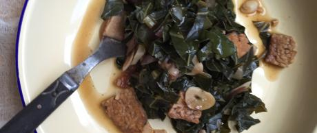 Tempeh Collard Greens recipe
