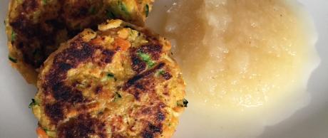 Saladmaster Recipe Bite-Sized Vegetable Pancakes
