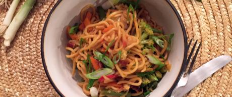 Saladmaster Recipe Yakisoba & Vegetable Stir Fry Noodles