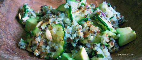 Saladmaster Recipe Zucchini Squash & Quinoa Salad