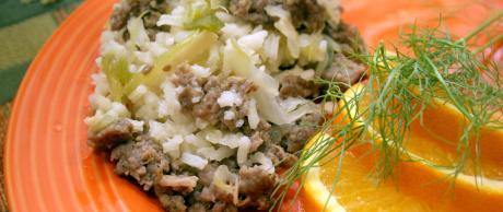 Savory Sausage and Rice Casserole