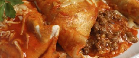 Saladmaster Recipe Beef & Cheese Enchiladas by Pete Updike