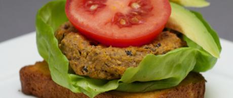 Saladmaster Recipe Black Bean Burgers by Marni Wasserman