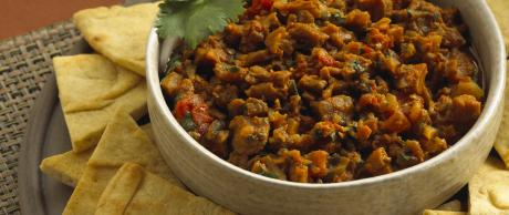 Saladmaster Recipe Indian Eggplant and Tomato Dip