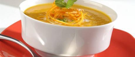 Crema de Zanahoria a la Naranja
