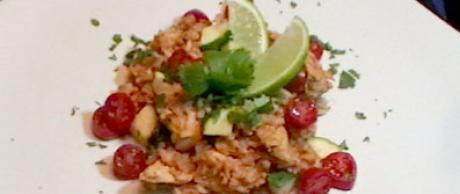 Saladmaster Healthy Solutions 316 Ti Cookware: Arroz con Pollo (Chicken with Brown Rice)