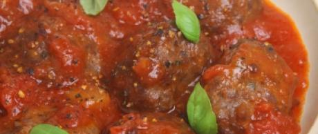 Saladmaster Healthy Solutions 316 Ti Cookware: Meatballs with Vegetable Tomato Sauce