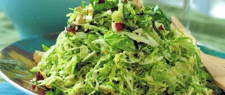 Saladmaster Healthy Solutions 316 Ti Cookware: Brussels Sprout Salad with Lemon Hazelnut Dressing