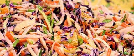 Jicama Fennel Citrus Salad