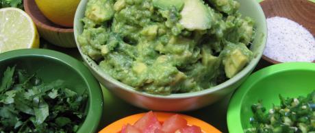 Saladmaster Recipe Guacamole