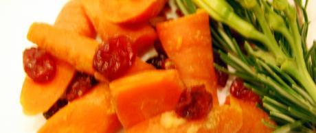 Saladmaster Recipe Carrots & Cranberries