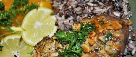 Saladmaster Recipe Lemon Garlic Chicken & Rice