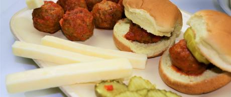 meatballs, appetizer, slider, beef, party