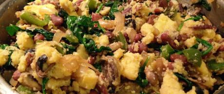 Saladmaster Recipe Polenta (Grits) Scramble
