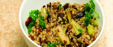 Saladmaster 316Ti Recipe Quinoa and Porcini Mushroom Salad Marni Wasserman