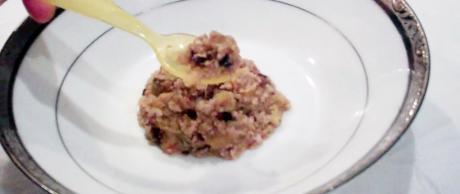 saladmaster healthy baby food recipe black bean quinoa avocado mango gluten free