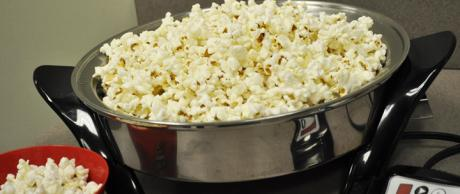 Saladmaster Healthy Solutions 316 Ti Cookware: Electric Skillet Popcorn
