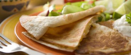 Saladmaster Recipe Bean and Cheese Quesadillas