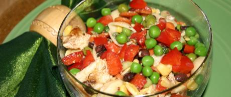 Saladmaster Healthy Solutions 316 Ti Cookware: Carnival Chicken Pasta Salad