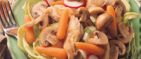 Saladmaster Recipe Chicken and Mushroom Provencal