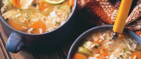 Saladmaster Recipe Hearty Chicken and Rice soup