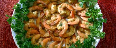 Saladmaster Healthy Solutions Spicy Marinated Shrimp