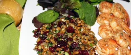 Saladmaster Healthy Solutions 316 Ti Cookware: Red Winter Wheat Berry Salad