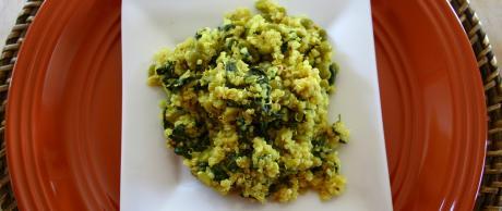 Saladmaster Healthy Solutions 316 Ti Cookware: Spicy Mustard Quinoa