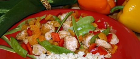 Saladmaster Healthy Solutions: Turkey Apricot Stir-Fry