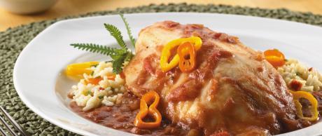 Saladmaster Recipe Tilapia with Tomato Sauce