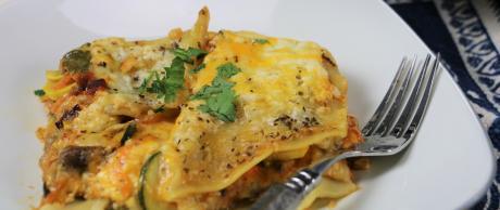 Veggie Lasagna, lasagna, healthy,
