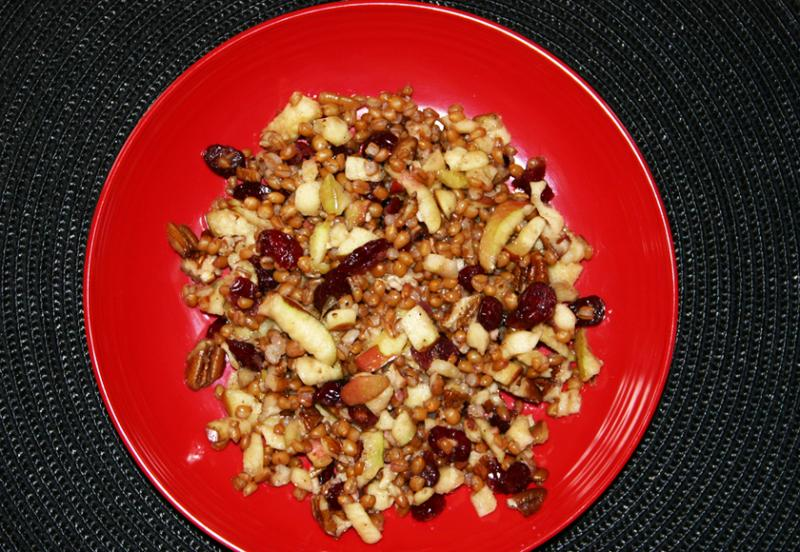 Wheat Berry & Tangy Fruit Salad | Saladmaster Recipes