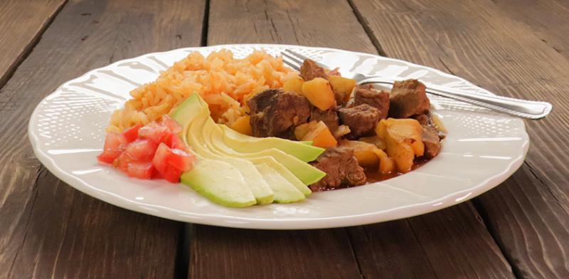 Guisado De Carne Con Papas Beef Stew With Potatoes Saladmaster