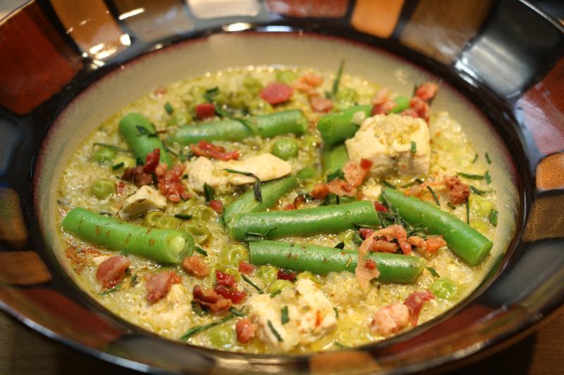 Quinoa Chicken Primavera