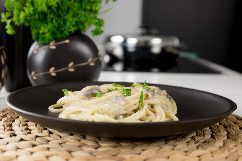 Creamy Mushroom Bucatini Saladmaster Recipes