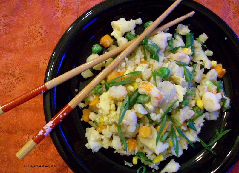 Saladmaster Cauliflower Fried Rice