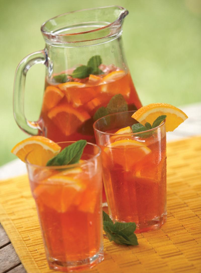 Mint Tea Punch Saladmaster Recipes