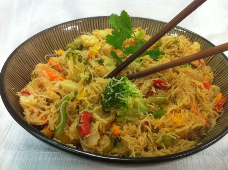 Thai Rice Noodle Stir Fry Saladmaster Recipes