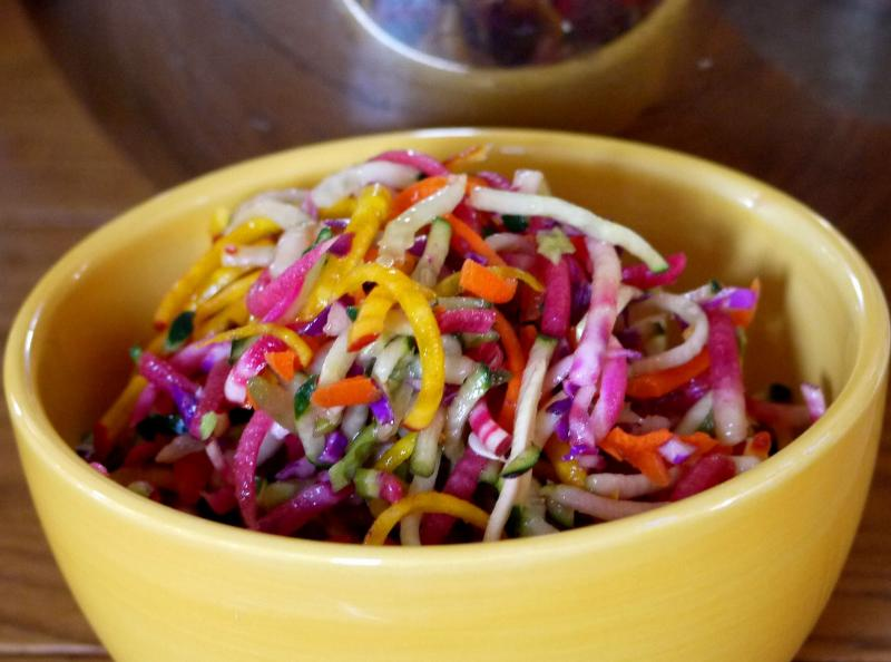 Rainbow Slaw Salad | Saladmaster Recipes